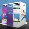 "Exhibition stand of ""Accenture"" company, exhibition HEALTH AND CARE INNOVATION EXPO 2017 in Manchester"