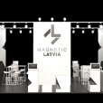National stand of Latvia, exhibition BYGG REIS DEG 2017 in Oslo