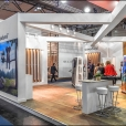 "Exhibition stand of ""Valinge"" company, exhibition DOMOTEX 2018 in Hannover"