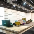 "Exhibition stand of ""LaCividina"" company, exhibition STOCKHOLM FURNITURE FAIR 2018 in Stockholm"