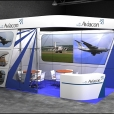 "Exhibition stand of ""Aviacon Air Cargo"", exhibition AIR CARGO 2010 in Amsterdam"