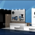 "Exhibition stand of ""Temptech"" company, exhibition IFA 2018 in Berlin"