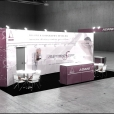 "Exhibition stand of ""Adani"" сompany, exhibition MEDICA 2010 in Dusseldorf"
