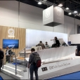 "Exhibition stand of ""Q-Yachts"" сompany, exhibition BOAT DUSSELDORF 2019 in Dusseldorf"