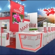Exhibition stand of Georgia, exhibition ITB 2019 in Berlin