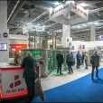 "Exhibition stand of ""Dinox"", exhibition IFFA 2019 in Frankfurt"