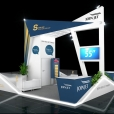 "Exhibition stand of ""Join Jet"" company, exhibition EBACE 2019 in Geneva"