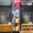"Exhibition stand of ""Valinge"" company, exhibition FMC 2019 in Shanghai"