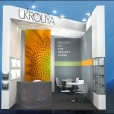 "Exhibition stand of ""Ukroliya"" company, exhibition ANUGA 2019 in Cologne"