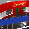 "Exhibition stand of ""Polesie"" company, exhibition INTERNETIONAL TOY FAIR 2011 in Nuremberg"