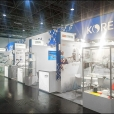 National stand of Korea, exhibition K-SHOW 2019 in Dusseldorf