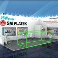"Exhibition stand of ""SM Platek"" company, exhibition K-SHOW 2019 in Dusseldorf"
