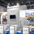 Exhibition stand of Belarus, exhibition WTM 2019 in London