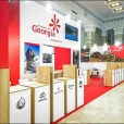Exhibition stand of Georgia, exhibition TT WARSAW 2019 in Warsaw