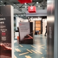 "Exhibition stand of ""Valinge"" company, exhibition DOMOTEX 2020 in Hannover"