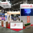 Exhibition stand of Georgia, exhibition MATKA 2020 in Helsinki