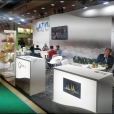 "Exhibition stand of ""The Union of Fish Processing Industry"", exhibition PRODEXPO 2020 in Moscow"