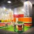 "Exhibition stand of ""Partner import"" company, exhibition FRUIT LOGISTICA 2011 in Berlin"