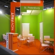 "Exhibition stand of ""NovFrut"" company, exhibition FRUIT LOGISTICA 2011 in Berlin"