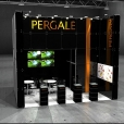 "Exhibition stand of ""Vilniaus Pergale"" company, exhibition PRODEXPO 2011 in Moscow"