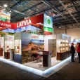 National Stand of Latvia, exhibition WORLD FOOD KAZAKHSTAN-2009 in Almaty